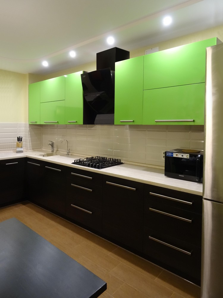 Акриловые кухни-Кухня из акрила «Модель 288»-фото2