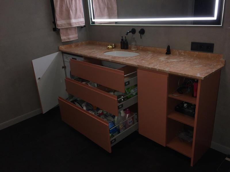 Мебель для ванной комнаты-Мебель для ванной «Модель 16»-фото2