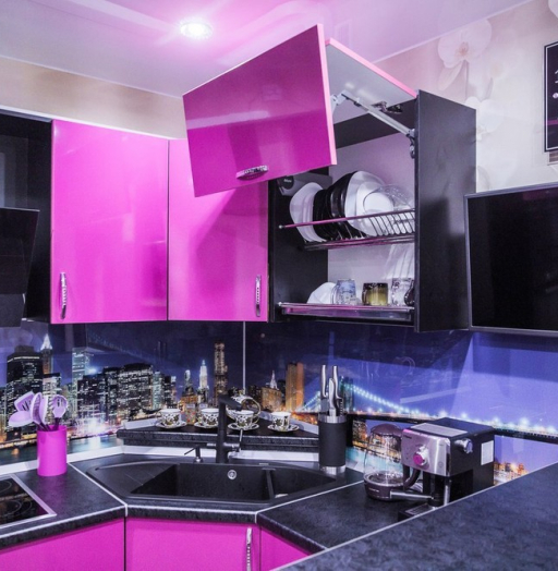 -Кухня МДФ в эмали «Модель 115»-фото10