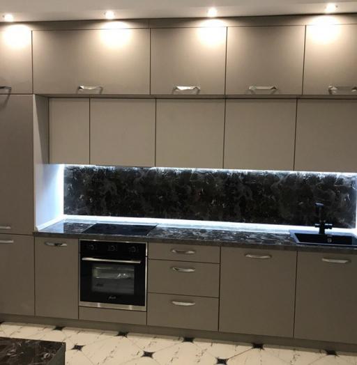 -Кухня МДФ в эмали «Модель 418»-фото17