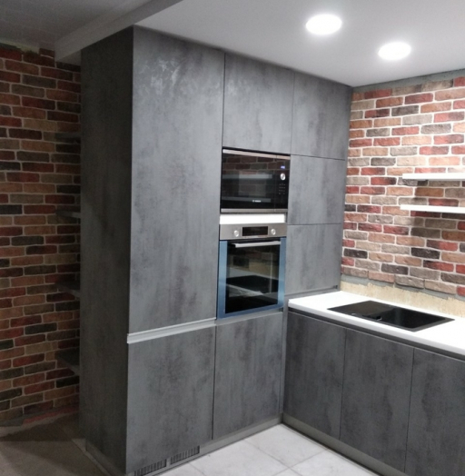 -Кухня МДФ в ПВХ «Модель 442»-фото9