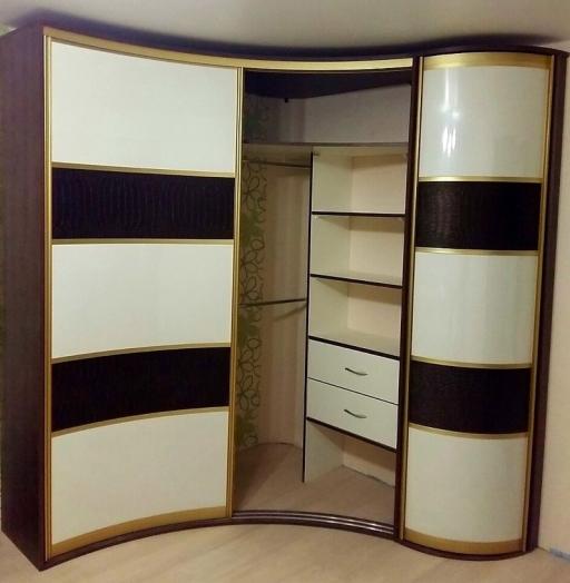 -Радиусный шкаф-купе «Модель 236»-фото10