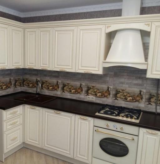 -Кухня МДФ в ПВХ «Модель 146»-фото1