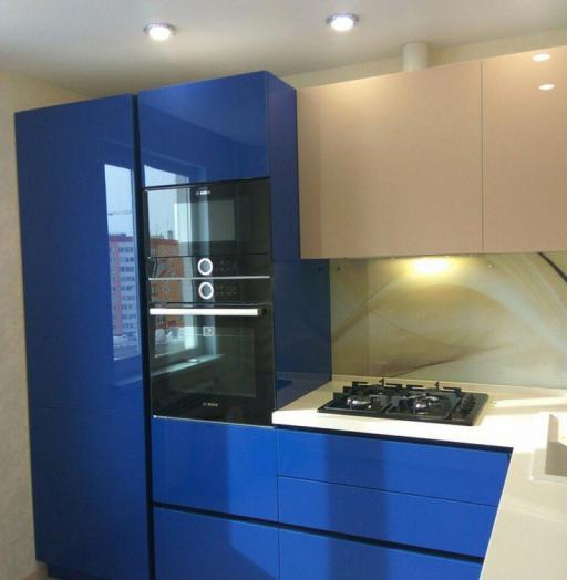 -Кухня МДФ в эмали «Модель 164»-фото21