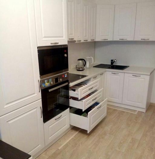 -Кухня МДФ в эмали «Модель 166»-фото14