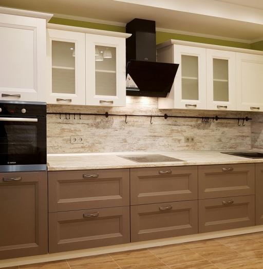 -Кухня из шпона «Модель 25»-фото8